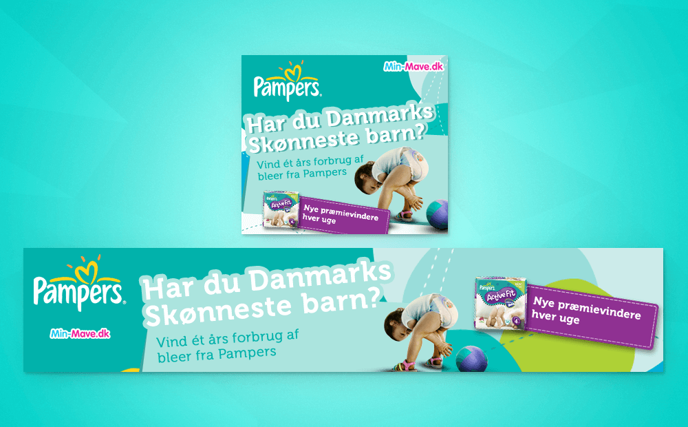 Pampers banner