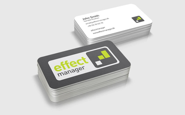 Effect Manager business card