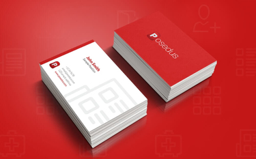 Posedus business card