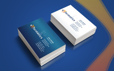 Exformatics business card